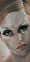 TWIGGY 67 - Claude-Max Lochu - Artiste Peintre - Paris Painter