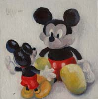 MICKEYS STORY 1 - Claude-Max Lochu - Artiste Peintre - Paris Painter