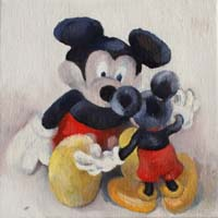 MICKEYS STORY 2 - Claude-Max Lochu - Artiste Peintre - Paris Painter