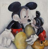 MICKEYS STORY 3 - Claude-Max Lochu - Artiste Peintre - Paris Painter