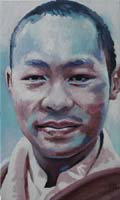 GYALWA KARMAPA - Claude-Max Lochu - Artiste Peintre - Paris Painter