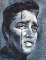 BLUE ELVIS - Claude-Max Lochu - Artiste Peintre - Paris Painter