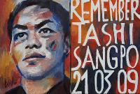 REMEMBER TASHI SANGPO - Claude-Max Lochu - Artiste Peintre - Paris Painter