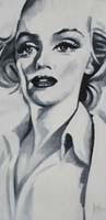 MARILYN '53 - Claude-Max Lochu - Artiste Peintre - Paris Painter