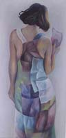 LA ROBE EN PAPIER N°2 - Claude-Max Lochu - Artiste Peintre - Paris Painter