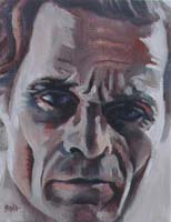 PASOLINI - Claude-Max Lochu - Artiste Peintre - Paris Painter