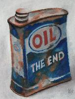 OIL THE END - Claude-Max Lochu - Artiste Peintre - Paris Painter