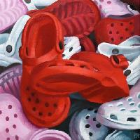 CROCS STORY - Claude-Max Lochu - Artiste Peintre - Paris Painter