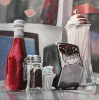 STILL LIFE FROM SF - Claude-Max Lochu - Artiste Peintre - Paris Painter