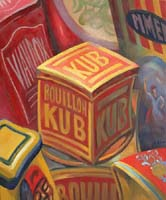 BOUILLON KUB '07 - Claude-Max Lochu - Artiste Peintre - Paris Painter