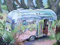 AIRSTREAM FLYING CLOUD - Claude-Max Lochu - Artiste Peintre - Paris Painter