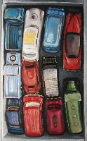 11 CARS IN A BOX - Claude-Max Lochu - Artiste Peintre - Paris Painter
