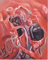 DOUBLE COCA N°2 - Claude-Max Lochu - Artiste Peintre - Paris Painter