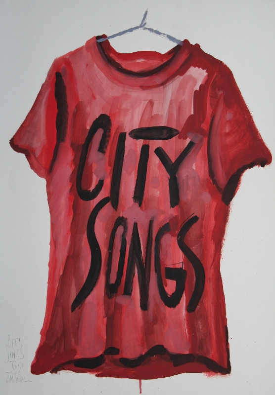 CITY SONGS 2 - 70x50