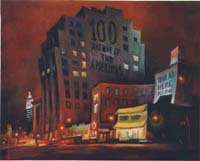 100 AVE OF THE AMERICA - Claude-Max Lochu - Artiste Peintre - Paris Painter