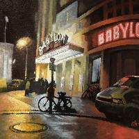 KINO BABYLON - Claude-Max Lochu - Artiste Peintre - Paris Painter