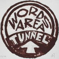 WORDS AREA TUNNEL - Claude-Max Lochu - Artiste Peintre - Paris Painter