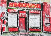 OUT OF AFRIKA! - Claude-Max Lochu - Artiste Peintre - Paris Painter