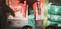 SURF MOTEL LOMBARD ST - Claude-Max Lochu - Artiste Peintre - Paris Painter