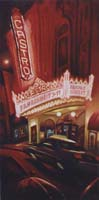 CASTRO THEATER - Claude-Max Lochu - Artiste Peintre - Paris Painter