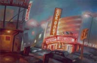 CORONET THEATER - Claude-Max Lochu - Artiste Peintre - Paris Painter