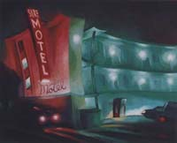 SURF MOTEL - Claude-Max Lochu - Artiste Peintre - Paris Painter