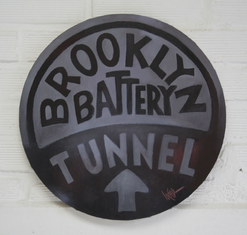 BROOKLYN BATTERY TUNNEL1 - - DIAMETRE 50 -