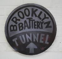 BROOKLYN BATTERY TUNNEL1 - Claude-Max Lochu - Artiste Peintre - Paris Painter