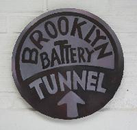 BROOKLYN BATTERY TUNNEL2 - Claude-Max Lochu - Artiste Peintre - Paris Painter