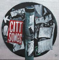 CITY SONGS - Claude-Max Lochu - Artiste Peintre - Paris Painter