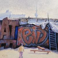 TACHELES 1990-2012 - Claude-Max Lochu - Artiste Peintre - Paris Painter
