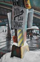 YOU CAN CHANGE YOUR LIFE 2 - Claude-Max Lochu - Artiste Peintre - Paris Painter