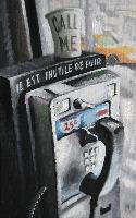 PHONE CALL - Claude-Max Lochu - Artiste Peintre - Paris Painter