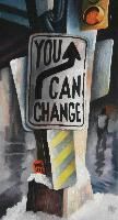 YOU CAN CHANGE YOUR LIFE 1 - Claude-Max Lochu - Artiste Peintre - Paris Painter