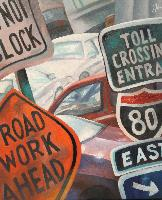 ROADSIGNS - Claude-Max Lochu - Artiste Peintre - Paris Painter