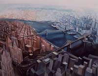 EAST RIVER - Claude-Max Lochu - Artiste Peintre - Paris Painter