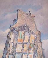 20-22 RUE SEDAINE - Claude-Max Lochu - Artiste Peintre - Paris Painter
