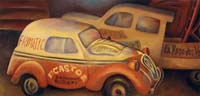 LA SIMCA 5 D'ANTONIN CASTOR - Claude-Max Lochu - Artiste Peintre - Paris Painter