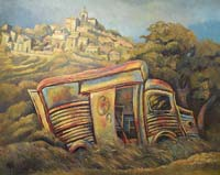 LE TUBE CITROEN A CRILLON LE BRAVE - Claude-Max Lochu - Artiste Peintre - Paris Painter