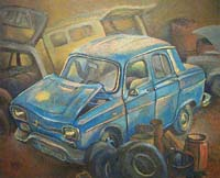 LA R10 DE GEORGES - Claude-Max Lochu - Artiste Peintre - Paris Painter