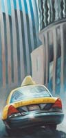 TAXI IN SF - Claude-Max Lochu - Artiste Peintre - Paris Painter